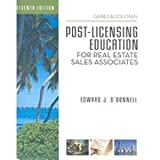 Post-Licensing Education for RE Sales Associates, 7th Edition, George Gaines and David S. Coleman, 142776705X