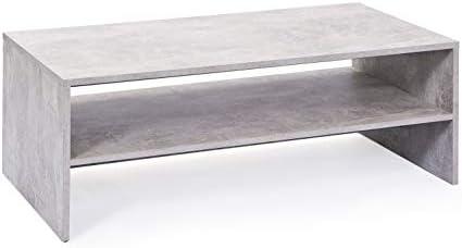 Aanbiedingen Inter Link 19603200 Salontafel, met melaminehars gecoate platte persplaat, beton, 115 x 60 x 41 cm  HU0vAh0