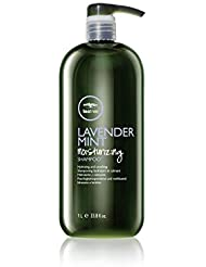 Paul Mitchell Lavender Mint Moisturizing Shampoo, Hydrating and Calming, 33.8-ounce