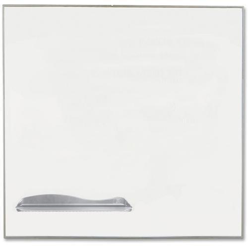 Balt 2029D Porcelain Magnetic Markerboard, 4'x4', White/AL Frame