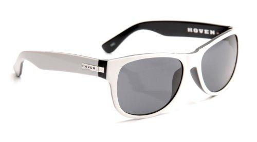 Hoven Big Risky 39-8201 Wayfarer, White & Black, 55 mm