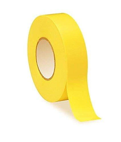 Amarillo PVC cinta aislante elé ctrica –  19 mm x 20 m –  alta calidad –  fuerte rollo por gocableties
