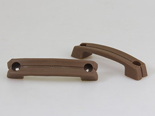 NEW BROWN INNER DOOR HANDLES L/R FIT NISSAN DATSUN TRUCK U620 620 720 521 1500 UTE 1968-1986