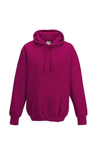 Just Hoods Street Hoodie XL Hot Pink