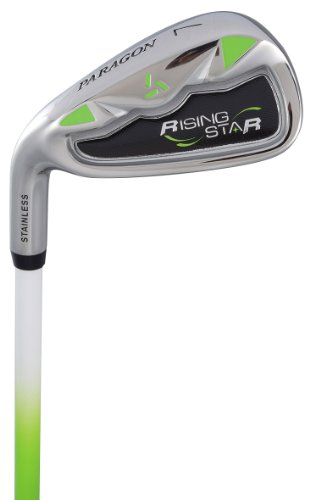 Paragon Rising Star Kids Golf Clubs Set / Ages 8-10 Green With Free Gift / Left-Hand