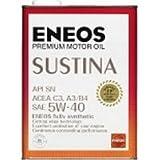 エネオス サスティナ 5W-40 SN C3,A3/B4 100%化学合成油 4L×6