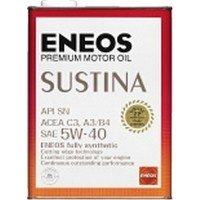 エネオス サスティナ 5W-40 SN C3,A3/B4 100%化学合成油 20L B00K76I6OY
