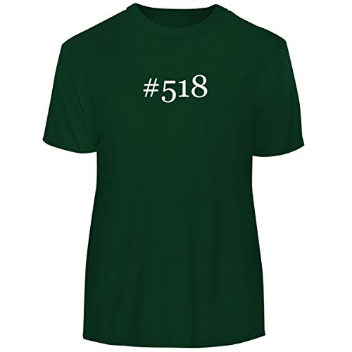 One Legging it Around #518 - Hashtag Men's Funny Soft Adult Tee T-Shirt, Forest, Large