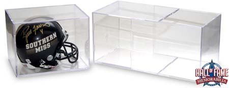 (Mini Helmet Cube Display Case Holder for Football Mini Helmets - Case of 8 - by Ballqube)