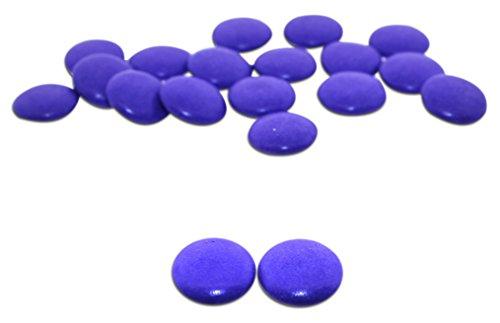 Koppers Chocolate Lentils - Koppers, Colorwheel Bright Purple Dark Chocolate Mint Lentils (1 Lbs)