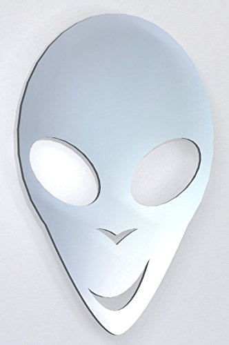 Alien Spaceship Acrylic Mirror Home Bathroom Children's Bedroom Mirror Decorative Mirrors