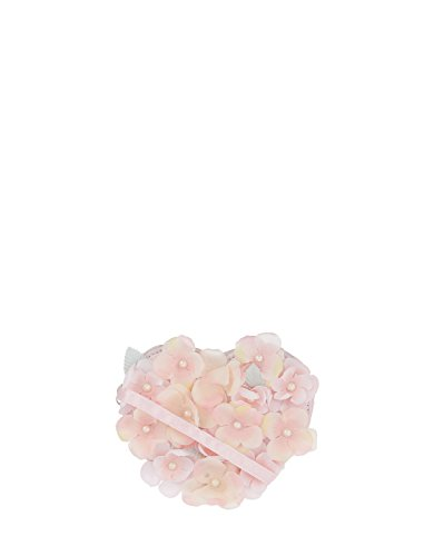 Accessorize Wisteria Corsage Heart Bag - womens - One Size (Purse Pinks Corsage)