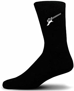 many choices of soft and light best supplier Black Socks With Guitar. Great novelty socks