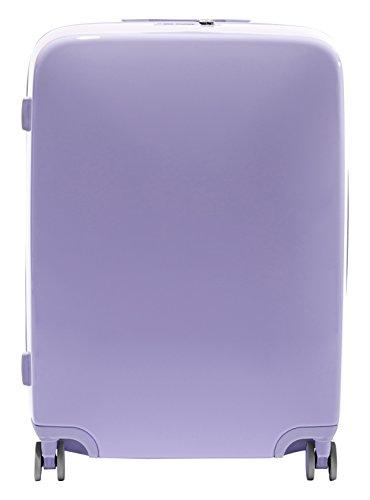 [Raden A28 Check-in Luggage, Light Purple Gloss] (Hardshell Gloss)