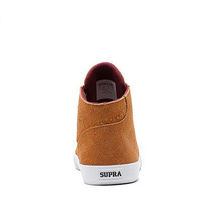 Supra Wrap Up Sneaker Light Brown Yellow White Light Brown Yellow White