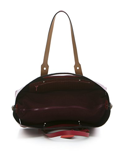 TWIST BAG HPO SHOPPING BAG L F293 AMARANTO/BRONZO