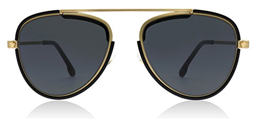 Versace Men's VE2193 Tribute Gold/Black/Grey One Size (Versace X Gucci)