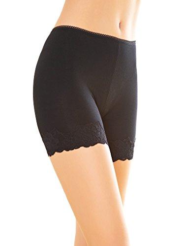 Women's Safety Legging Briefs Boy Shorts Comfort Panties Soft Short Pant XL/XXL (XXL, Black)