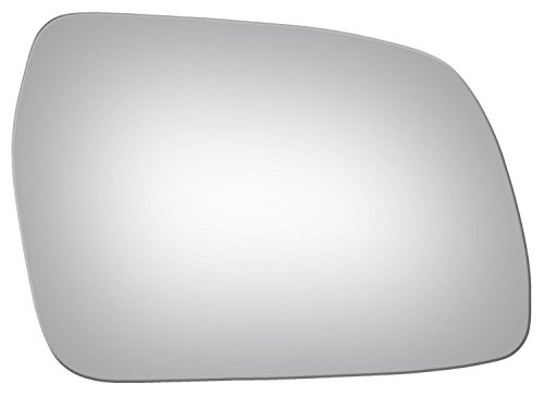 Convex Passenger Side Mirror Replacement Glass for 1998 CHEVROLET TRACKER