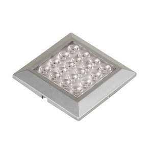 "Jesco Lighting SD121CV-35-50-S Orionis - 2.63"" LED Square Surface Mount Display Light, Silver Finish"