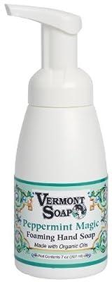 Vermont Soap Organics - Peppermint Foaming Hand Soap 7oz Pump
