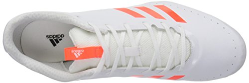 adidas Men's Sprintstar Track Shoe, Solar Red/White/Infrared, 7 M US by adidas (Image #8)