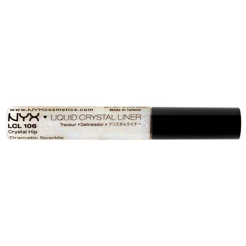 NYX Professional Makeup Liquid Crystal Liner, Crystal Hip, 0.384 Ounce
