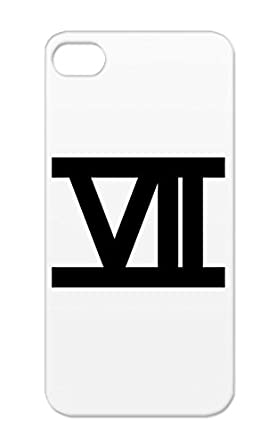 Black Zahl 7 Roemisch For Iphone 5s Number 1 Numbers Symbols One 4