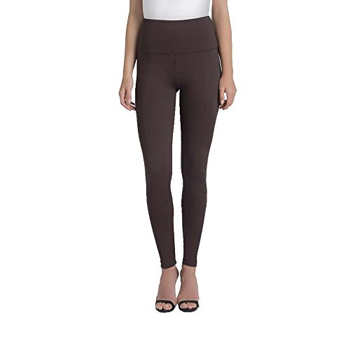 Lysse Women's Center Seam Ponte Legging (Espresso,L)