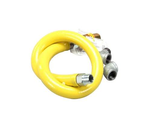 T&S Brass HG-4E-48 Gas Hose with Quick Disconnect ()