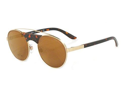 Giorgio Armani  Men's 0AR6047 Matte Pale Gold/Brown Mirror Bronze - Sunglasses Armani Giorgio Gold