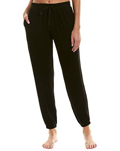 Donna Karan Clothes - Donna Karan Women's Sweater Jersey Jogger Pants Black Medium
