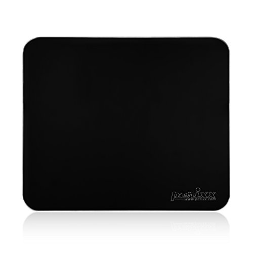 Perixx 11121 DX-3000MBK, Gaming Aluminium Black Mouse Pad - 9.84