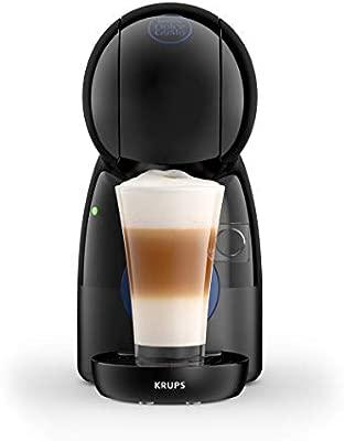 Dolce Gusto Krups Piccolo KP1A08 Cafetera 15 Bares de presión, 1500 W Potencia con depósito de 0.8 L, Color Azul, compacta con 48 cápsulas de café ...