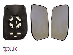 Transit Parts UK Pair Left And Right Mirror Glass For Transit 2000-2010 Mk6 Mk7