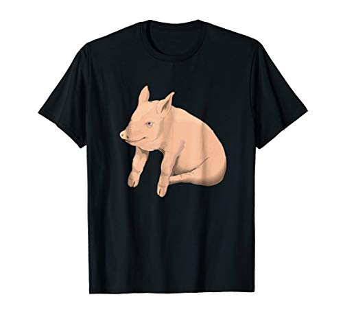 Pig Costume Shirt Theme Party Potbelly Pig -