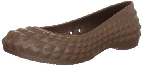 Crocs Womens Super Gjuten Platta Brons