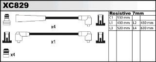 Ignition Leads Cable Kit XC829: