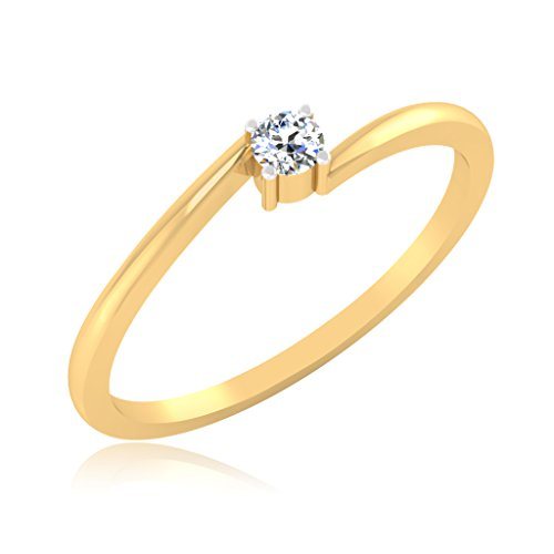 IskiUski 18KT Gold and Diamond Ring for Women