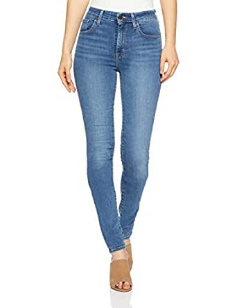 Levi's Women's 721 High Rise Skinny, Dust in The Wind, 24 32 Blue