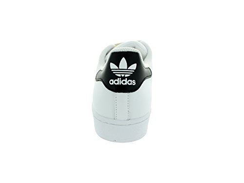 adidas Superstar White Black Mens Trainers Size 8 UK