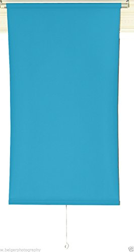 2.5'X5' Day Blue Rollup Background (Duty Camera Wall Mount)