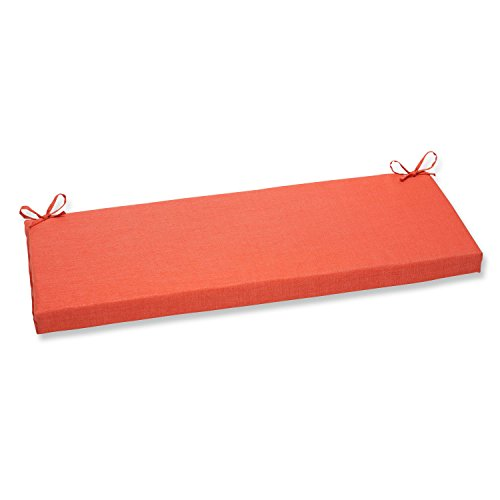 Pillow Perfect Outdoor/Indoor Rave Coral Bench Cushion