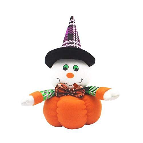 Halloween Kids Funny Joking Toys Props Party Supplies Witch Pumpkin Cat Doll 2 OneSize ()