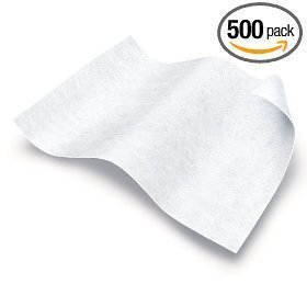 Medline Disposable Cloths (Medline Disposable Washcloths - Ultra-Soft Dry Cleansing Wipes, 7-in x 13-in (ULTRASOFT713), 1200 Count)