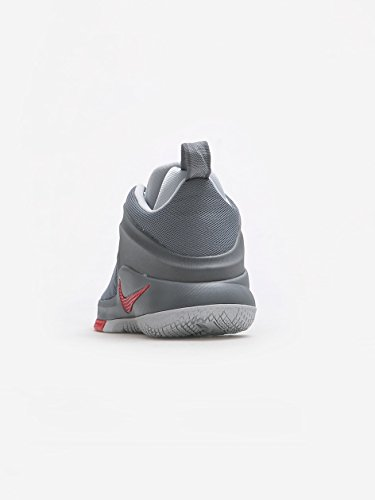 NIKE Mens Lebron Zoom Witness Basketball Shoes Cool Grey/University Red fake for sale sale wiki best place outlet cheap prices I49lo6g0