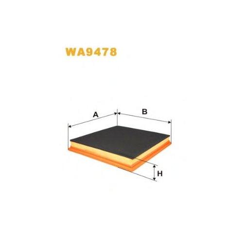 Wix Filter WA9478 Air Filter: