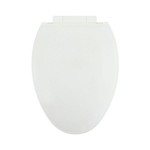 Centoco 1700SC-001 Plastic Elongated Toilet Seat with Closed Front, White by Centoco (Image #1)