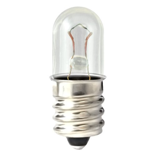 - Eiko - 399 Mini Indicator Lamp - 28 Volt - 0.04 Amp - T1.75 Bulb - Midget Screw Base - 10 Pack
