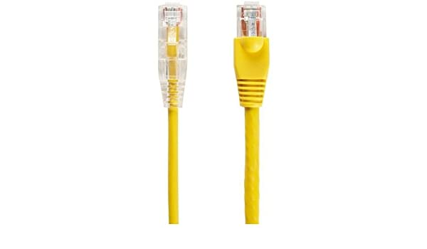 Black Box 1 YL 25-PK CAT6 250MHz Ethernet Patch Cable UTP PVC